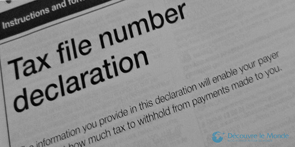 Le Tax File Number Australie