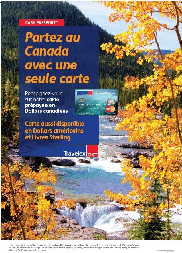 Une carte de prépayée pour le Canada