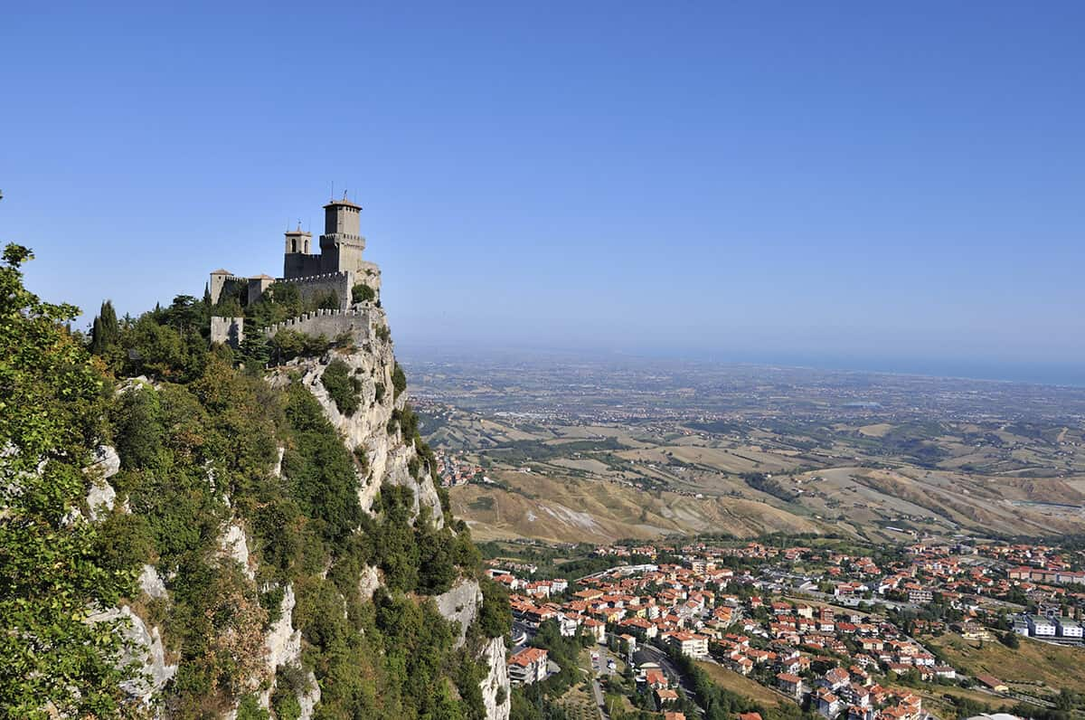 Castle in San Marino