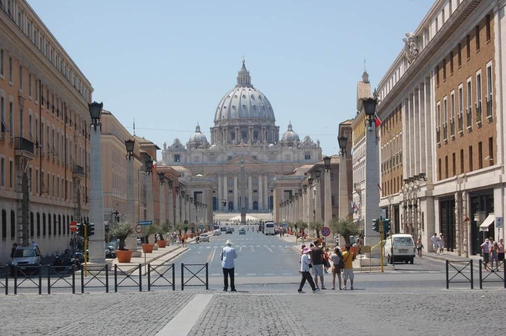 rome visiter le vatican