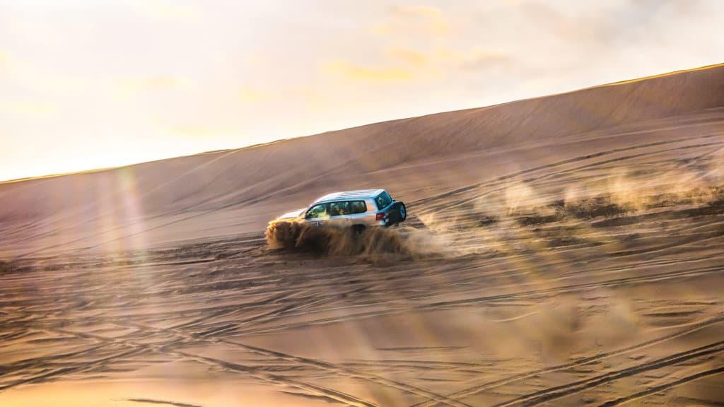4x4 désert dubaï