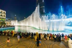 fontaines burj khalifa