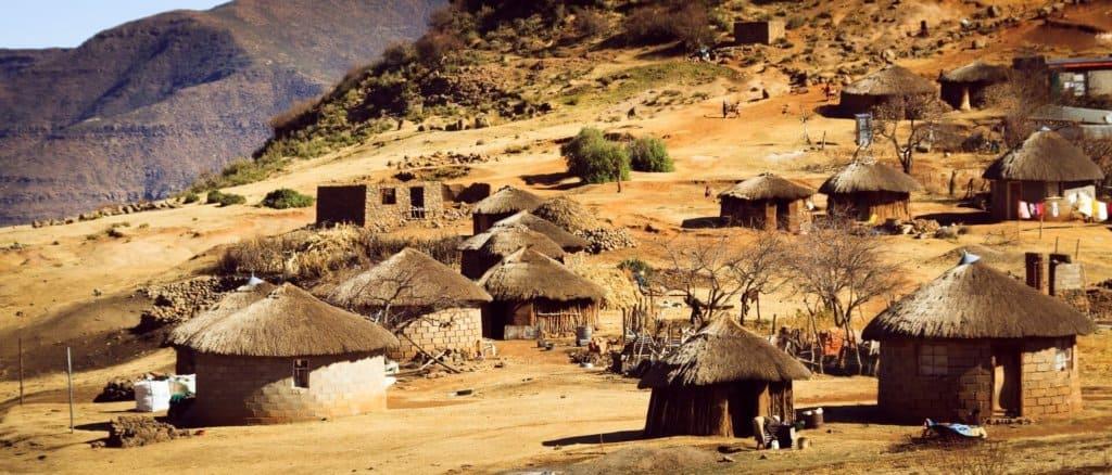 paysage lesotho