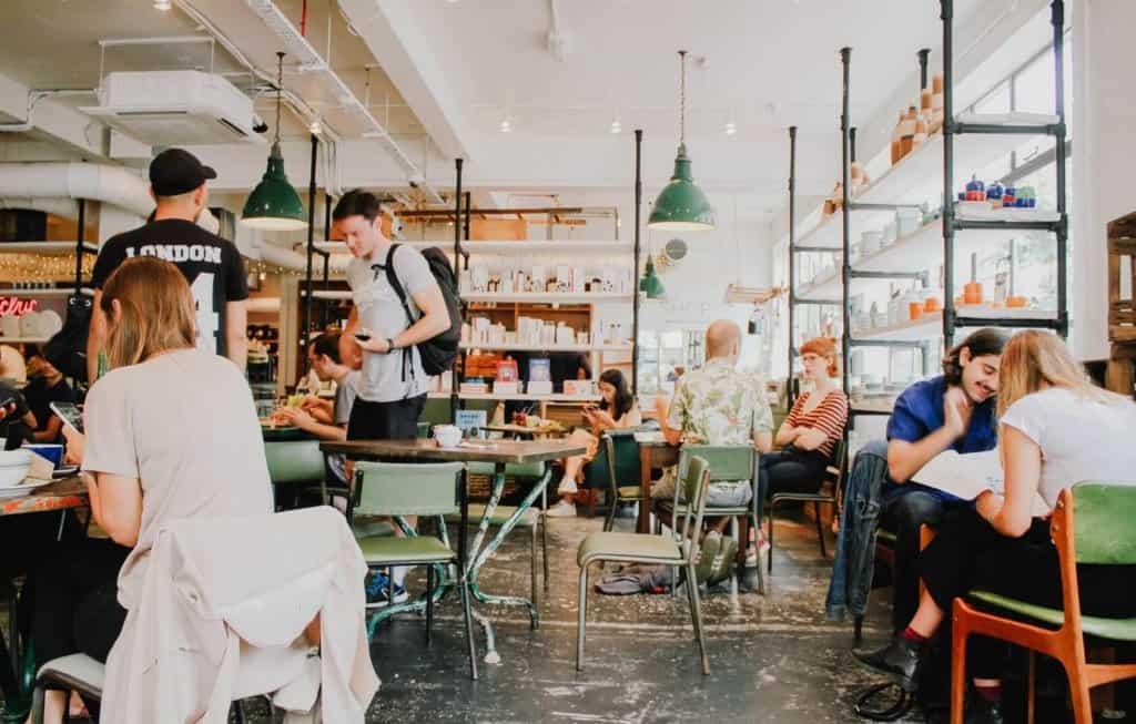 cafés et bars de Londres