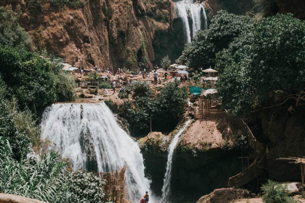 cascades ouzoud marrakech