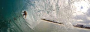 surfer en europe