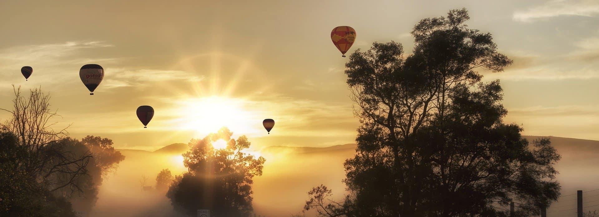 faire de la montgolfiere