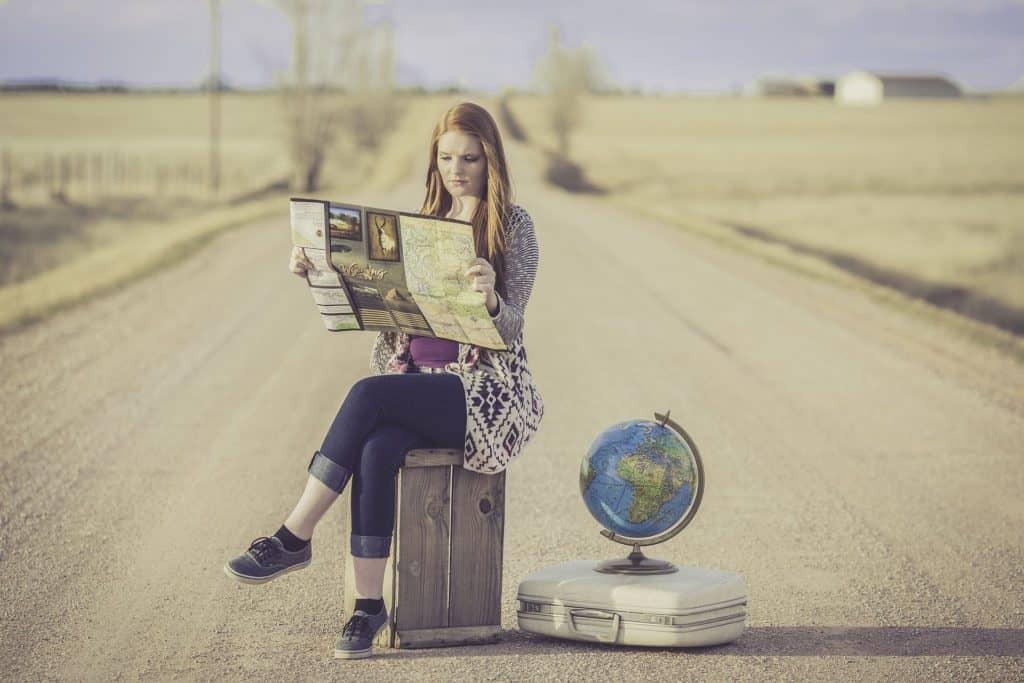 partir en vacances avec une valise