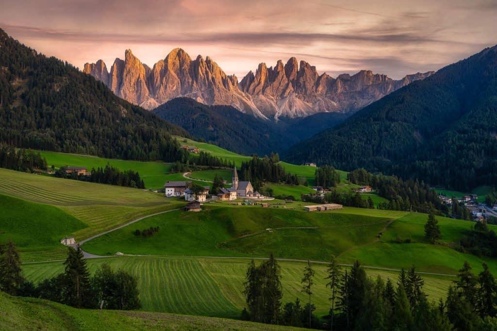 marcher dans les dolomites italie