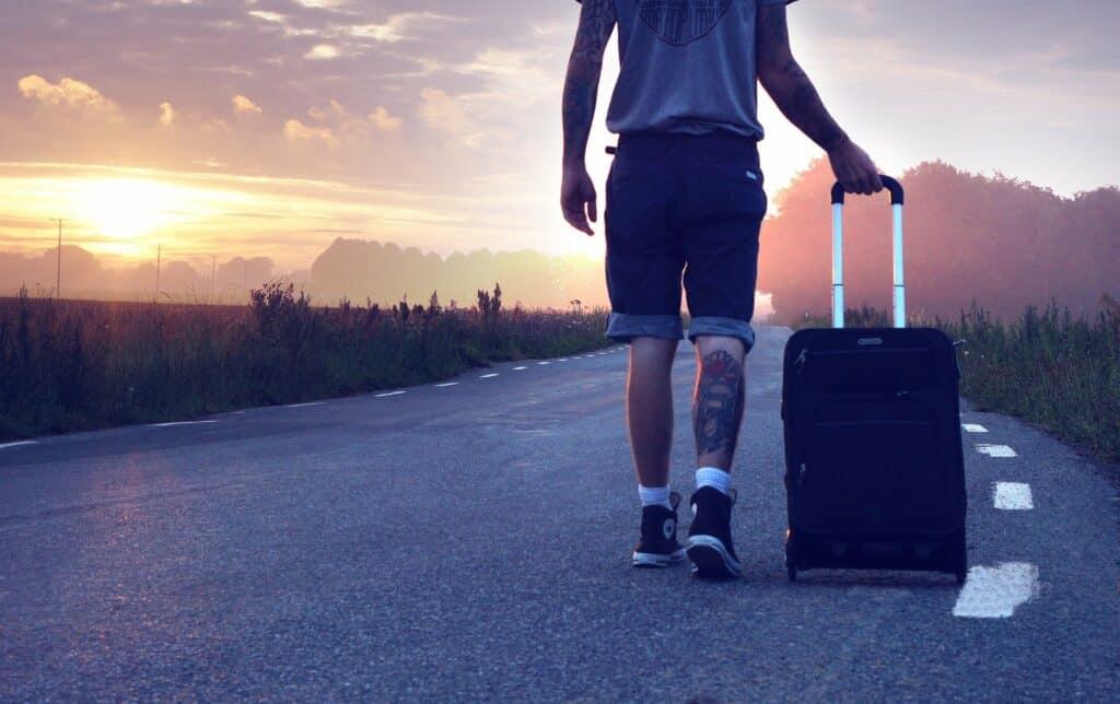 voyager avec un bagage
