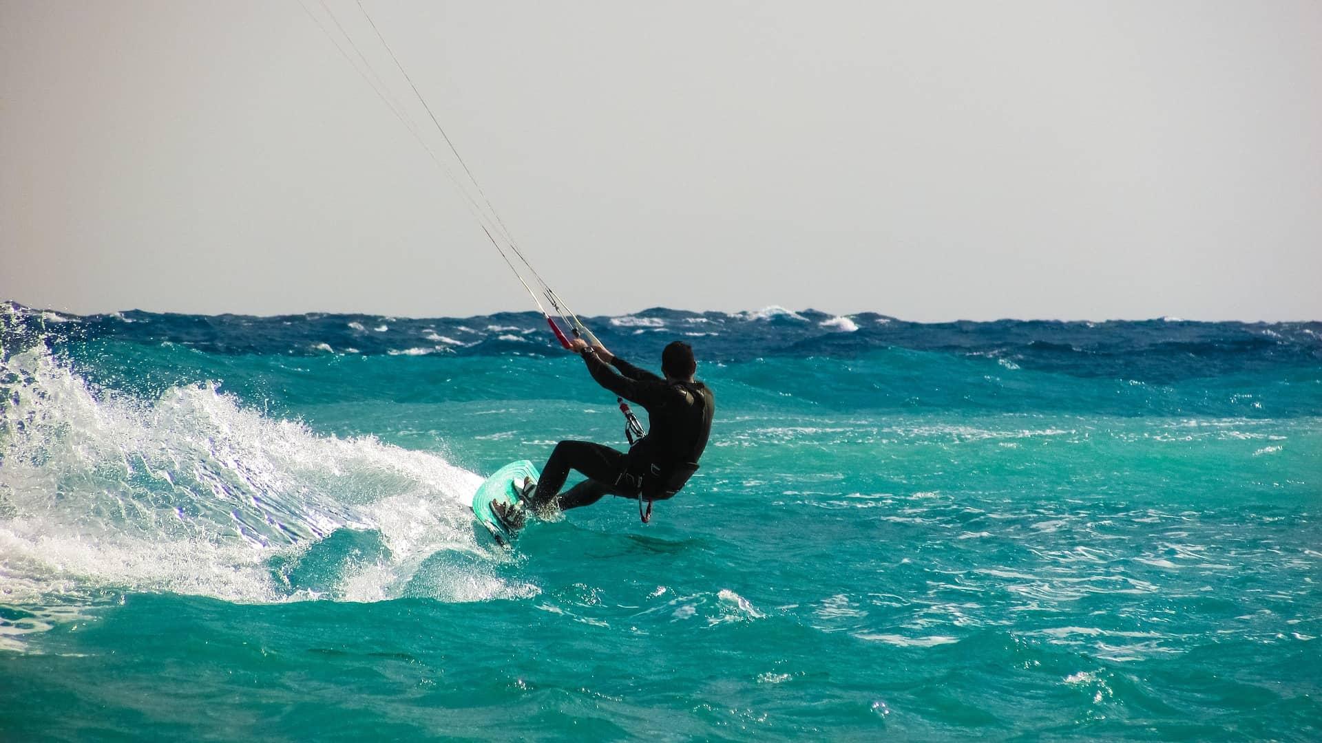 kite surf ocean vendee