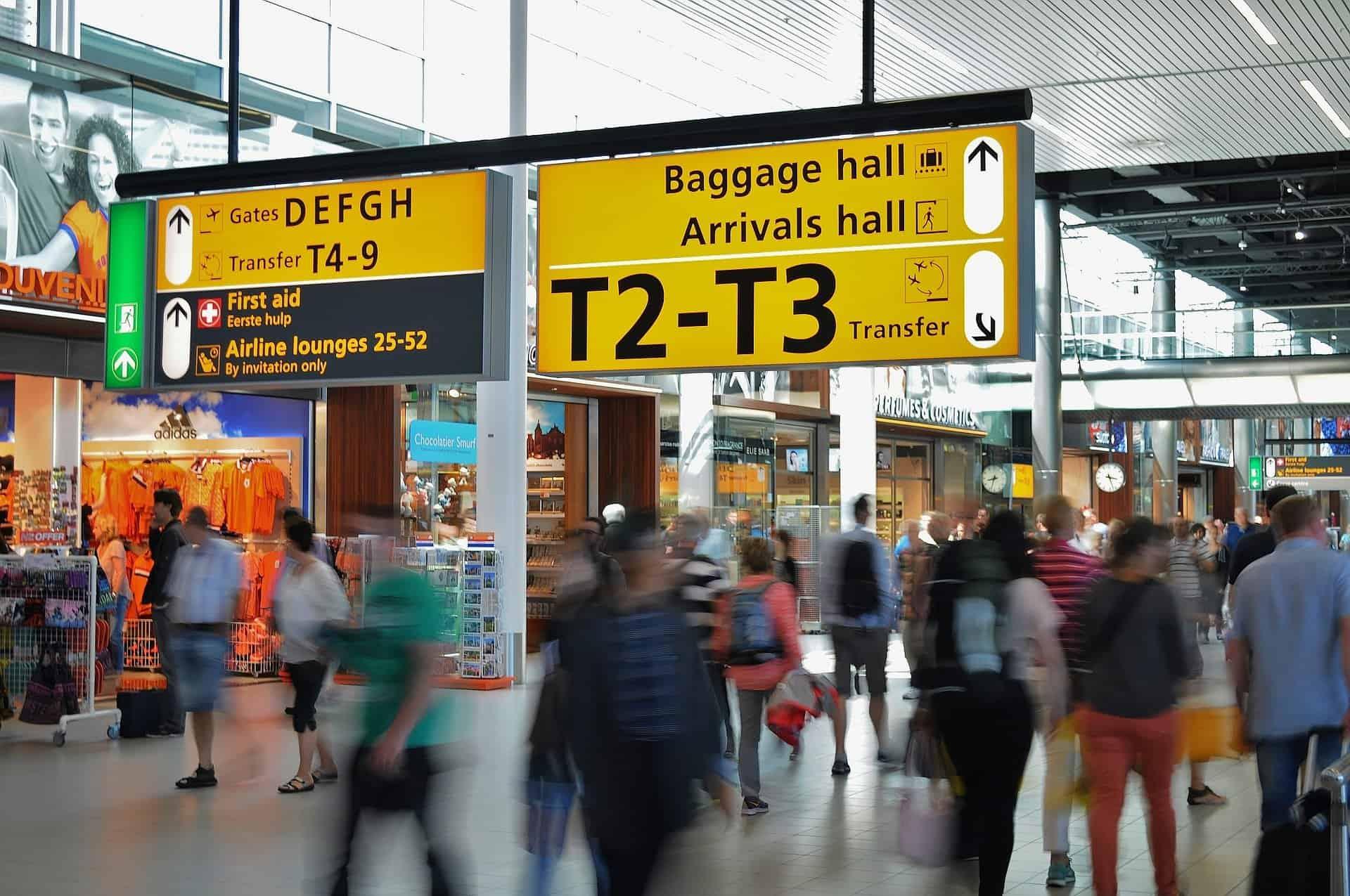 retard avion aeroport